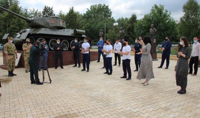 В Грозном почтили память павших в Курской битве