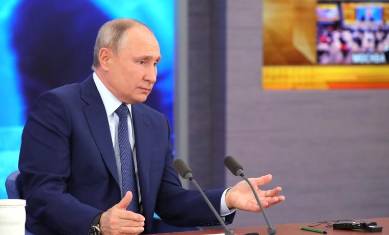 Утверждён перечень поручений по итогам ежегодной пресс-конференции Владимира Путина