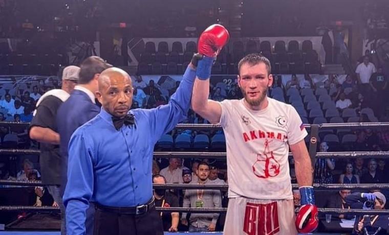 Боксер РСК «Ахмат» одержал победу на турнире профессионального бокса в Сан-Антонио