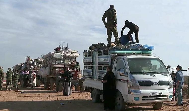 Почти 157 тыс. человек вышли из Восточной Гуты с момента ввода гуманитарных пауз