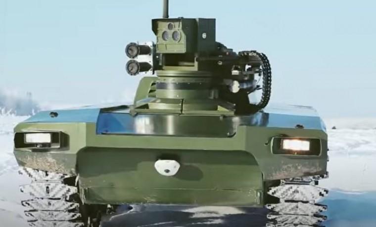 России успешно проведены ходовые испытания боевого робота «Маркер»