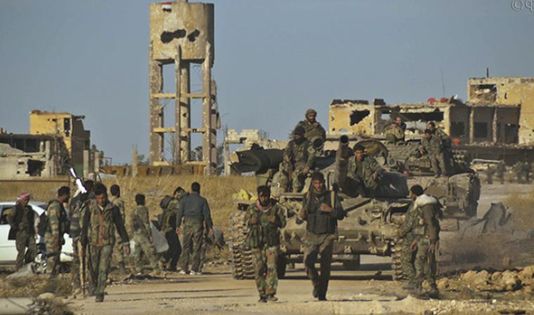 Боевики ИГ атаковали сирийские войска после удара по авиабазе в Хомсе