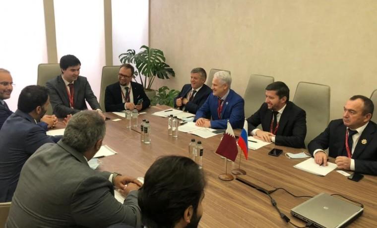 Делегация из ЧР встретилась с Катарским банком развития