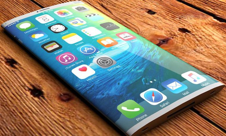 iPhone 8 будет иметь изогнутый OLED-дисплей