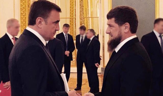 Чечня и Тульская область стали лидерами эффективности губернаторов России