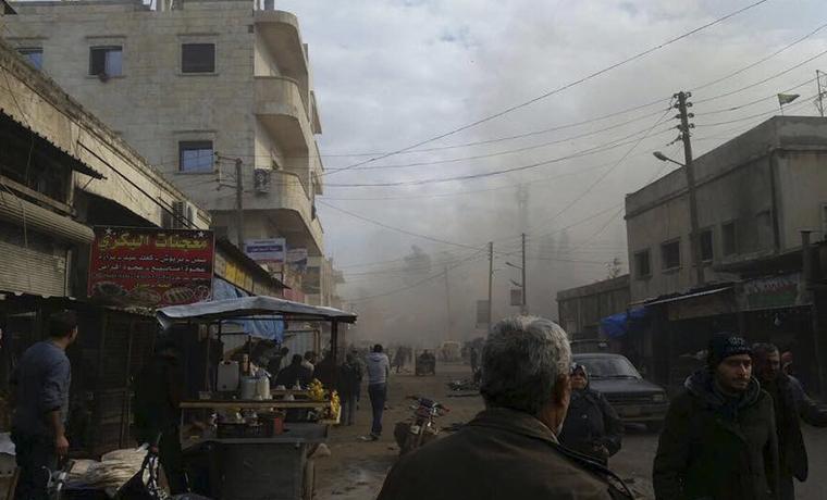 В Сирии прогремели два мощных взрыва
