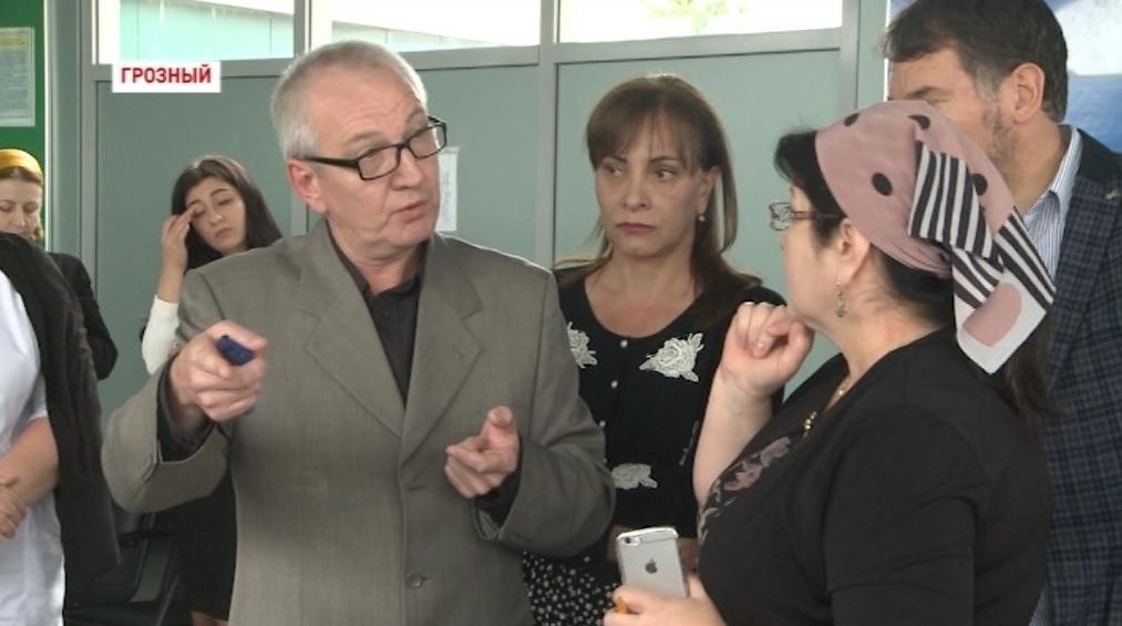 В аэропорту Грозного прошли учения медицинских работников