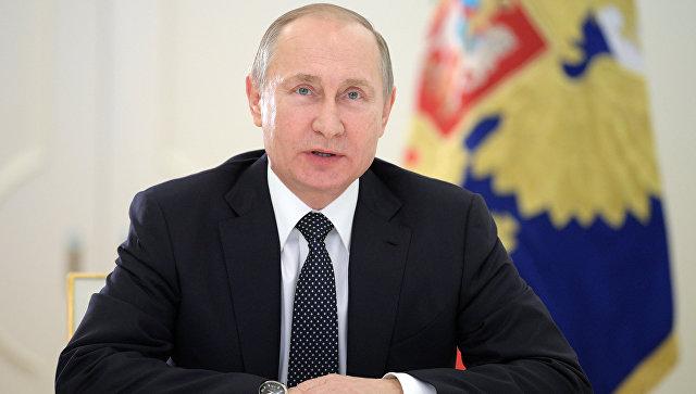 Владимир Путин: Россия будет надежно и ритмично двигаться вперед
