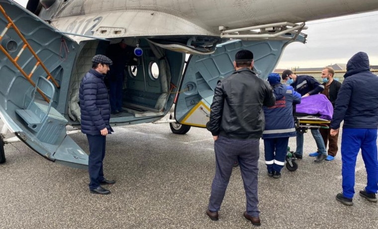 Санавиация ЧР в три рейса эвакуировала пациентов из Курчалоевского района
