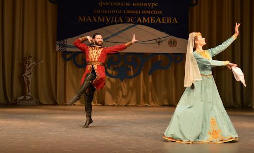 В Грозном проходит XII Международный фестиваль-конкурс сольного танца имени Махмуда Эсамбаева