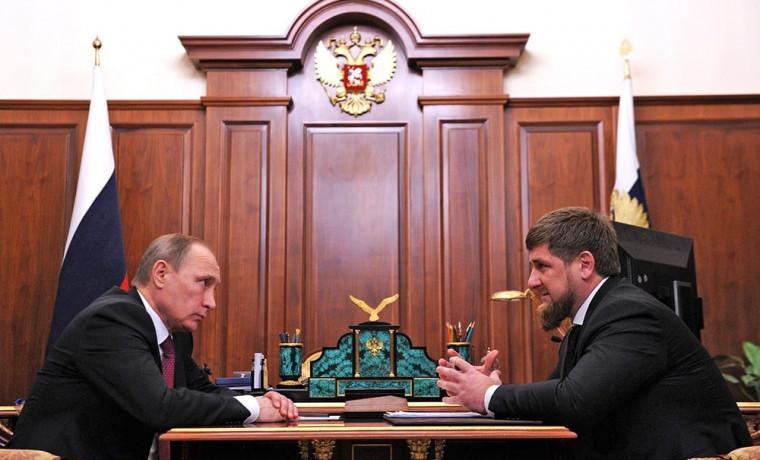 Рамзан Кадыров рассказал о своем телефонном разговоре с Владимиром Путиным