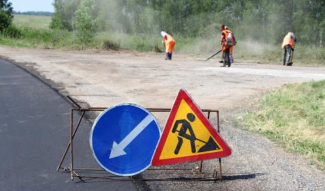 Продолжаются ремонтные работы на крупных дорожных объектах ЧР