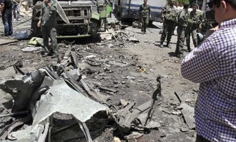 При взрыве в Дамаске погибли не менее семи человек