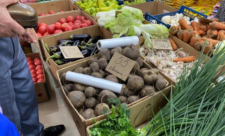 В Чеченской Республике зафиксировано снижение цен на сезонные овощи
