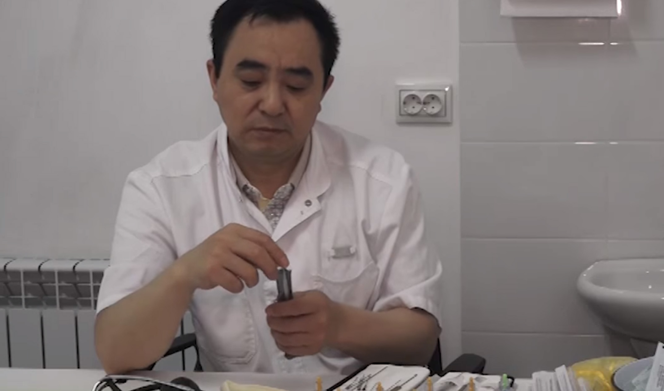 Китайские медики принимают пациентов в Грозном