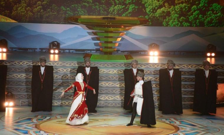 Рамзан Кадыров принял участие в церемонии открытия XI Фестиваля культуры и спорта народов Кавказа