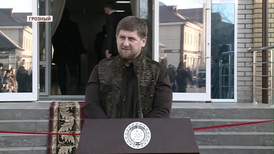 В Грозном открыт новый корпус интерната для слабослышащих детей