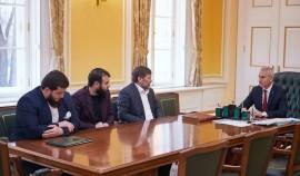 Хамзат Кадыров пригласил главу Минспорта России в Чеченскую Республику