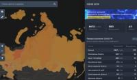В России запущен интерактивный сервис с информацией по распространению коронавируса COVID-19