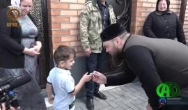 Фонд им. А.-Х. Кадырова построил дома для восьми остронуждающихся семей