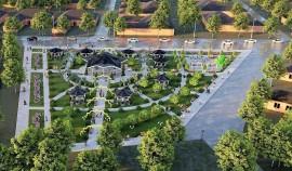 Новый парк построят в поселке Войкова в Грозном в следующем году