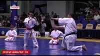 Впервые в матчевом бою по карате киокушинкай сошлись сборная ЧР и Казахстана.