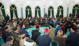 В доме Магомеда Кадырова состоялись религиозные обряды, посвященные Первому Президенту ЧР