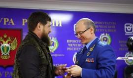 Рамзан Кадыров вместе с заместителем Генерального прокурора РФ Андреем Кикотем принял участие в коллегии надзорного органа ЧР
