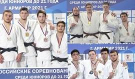 Представители клуба «Ахмат» стали первыми на Первенстве России по дзюдо