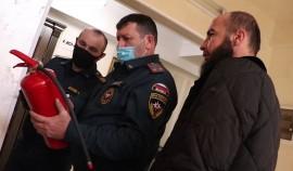 Сотрудники МЧС проверили противопожарное состояние туркомплекса «Кезеной-Ам»