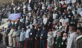 Во Дворце волейбола им. Увайса Ахтаева состоялся Всемирный Съезд народов Чеченской Республики