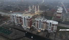 Рамзан Кадыров побывал с инспекцией в городе Курчалой