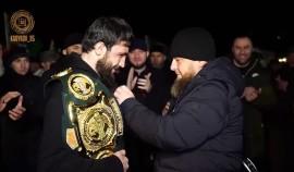 Рамзан Кадыров поздравил бойцов РСК «Ахмат» с победами на турнире ACA 118