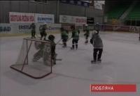 Чеченские хоккеисты юниоры на международном турнире в Любляне