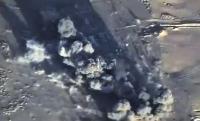 Российские бомбардировщики нанесли очередной удар  по позициям  ИГ в Сирии