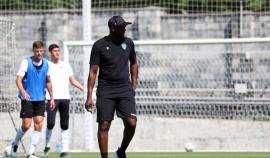 Яя Туре провел первую тренировку с футбольным клубом «Ахмат»