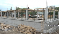 В Наурском районе продолжается строительство трёх общеобразовательных школ  ⠀