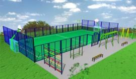8 спортивных площадок получат жители Чеченской Республики в следующем году благодаря нацпроекту