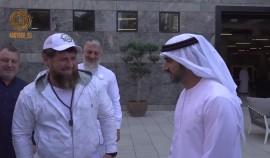 Рамзан Кадыров встретился с Наследным принцем Дубая Хамданом бин Мохаммед бин Рашид Аль Мактумом
