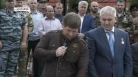 Р.Кадыров посетил торжественную линейку в родной Центароевской школе