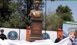 Памятник доктору Лизе открыли у детской больницы в Грозном