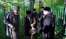 Глава ЧР поручил благоустроить место, где в течение сорока дней и ночей молился Кунта-Хаджи Кишиев