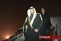 Прибытие делегации из Арабских Эмиратов в Грозный