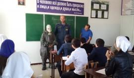 В Чеченской Республике прошли открытые уроки, посвященные всемирному дню гражданской обороны