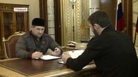 Р.Кадыров обсудил вопросы сферы образования с М.Даудовым