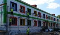 В Ачхой–Мартане ведутся работы по сеймоусилению детского сада