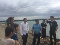 На берегу «Грозненского моря» провели патрулирование