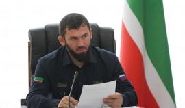 Магомед Даудов повел рабочую встречу с Андреем Турчаком