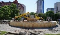В Грозном реконструируют парк Нефтяников