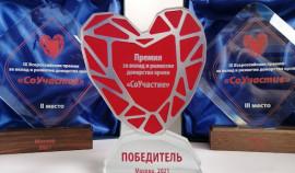 Республиканская станция переливания крови стала лауреатом IX Всероссийской премии «Соучастие»